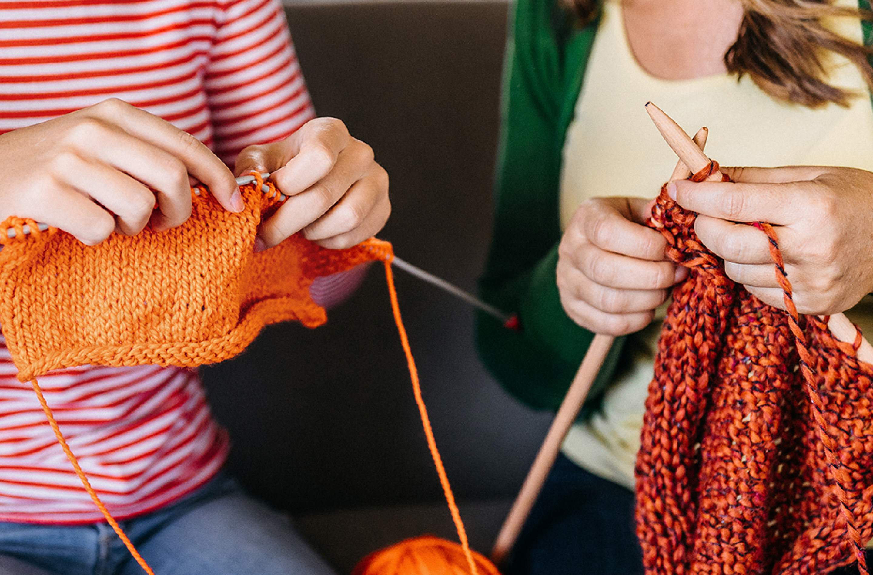 Crafting Self Care: Learn to Knit Pt.2 preview